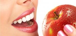 manzanas alimentos que ayudan a la higiene dental