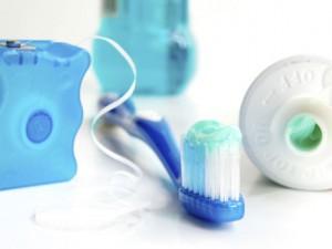 hilo dental cepillo enjuage