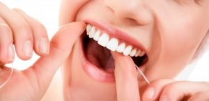 hilo dental mujer
