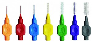 cuidado de brackets cepillo interdental