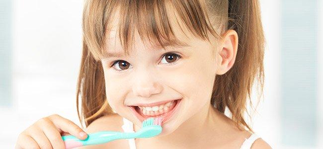 cuidado dental en dientes de leche