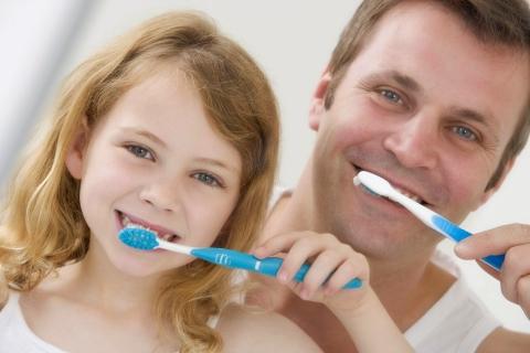 dientes de leche higiene dental